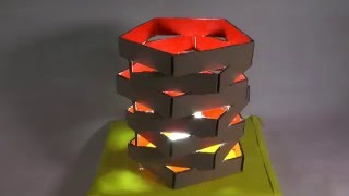 getlinkyoutube.com-Cara Membuat Lampu Hias dari Kardus