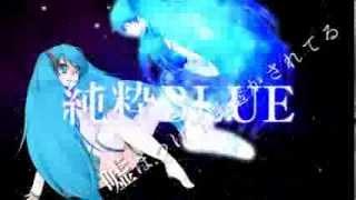 getlinkyoutube.com-【手描き】THE BLUE【初音ミク】