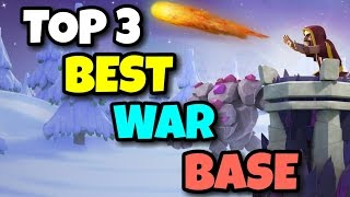 "getlinkyoutube.com-New ""TOP 3 BEST"" TH9 ANTI 3 STARS WAR BASE | Anti All Combo | F.t BOMB TOWER | Clash Of Clans"