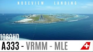 getlinkyoutube.com-Watch the Fantastic Maldives : A330 Cockpit Landing Pilotview 1080HD!