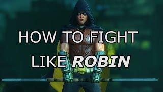 getlinkyoutube.com-Robin Arkham City Combat | Beatdown