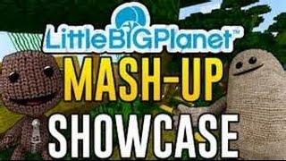 getlinkyoutube.com-Minecraft PS3/PS4/PSVita Little Big Planet Mashup Pack Review