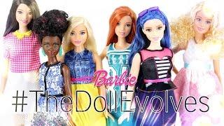 getlinkyoutube.com-Doll Review: All New Barbie Fashionistas #TheDollEvolves   Curvy   Tall   Petite - 4K