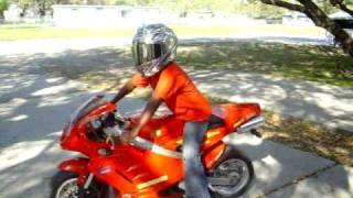 getlinkyoutube.com-150cc  Pocket Bike