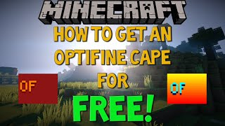 getlinkyoutube.com-How to get an Optifine Cape for FREE! [Visible to Everyone]