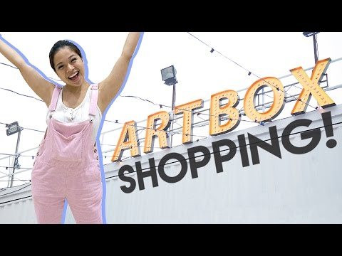 ARTBOX SHOPPING + GIVEAWAY!  | PrettySmart EP: 105