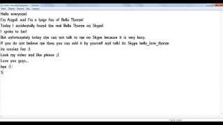 getlinkyoutube.com-The Real Bella and Zendaya in Skype!!! not believe fake!