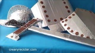 getlinkyoutube.com-Armadura de conquistador con cartón