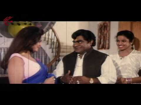 Disco Shanti In Blue Saree Romantic Scene || Muddai Muddugumma Movie