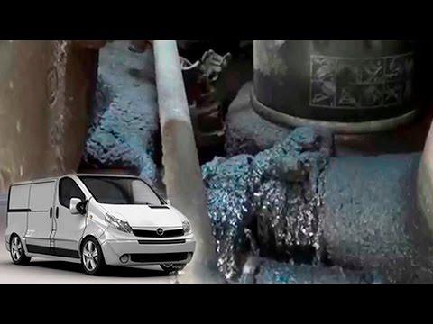 Проблема течет масло на Renault Trafic