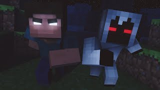 getlinkyoutube.com-Minecraft: Entity 303 Vs Herobrine - Batalhas SkyWars