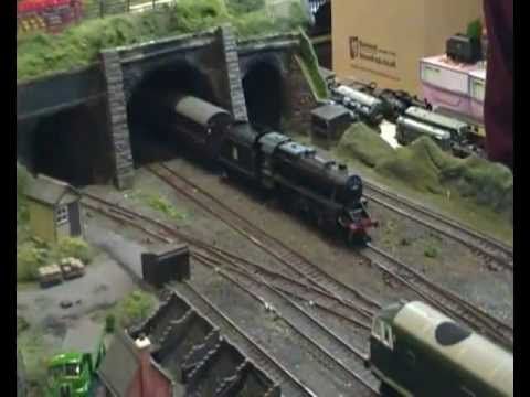 Milton Keynes Model Railway Society's Model Railway Show 2012 Part 5 (18th February 2012)