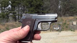 getlinkyoutube.com-Astra Cub 22 Short Pocket Pistol