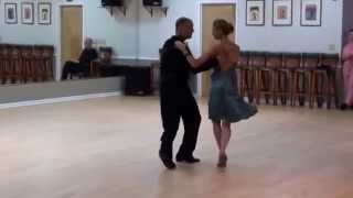 Tara and Michael 2015 Argentine Tango