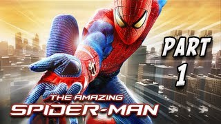 getlinkyoutube.com-The Amazing Spider-Man Walkthrough - Part 1 [Chapter 1] Oscorp is Your Friend Let's Play PC XBOX PS3