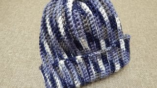 getlinkyoutube.com-Gorra Crochet para Niño Niña Mujer u Hombre facil