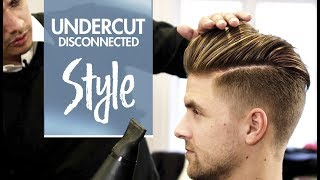 getlinkyoutube.com-Disconnected Undercut ★ Men's hair & styling Inspiration ★ 4k hairstyle