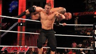 getlinkyoutube.com-John Cena vs. Randy Orton: Raw, Sept. 22, 2014