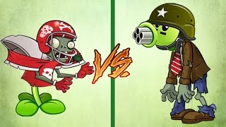 Plants Vs Zombies NuezAllStar Vs GuisantrallaZombie
