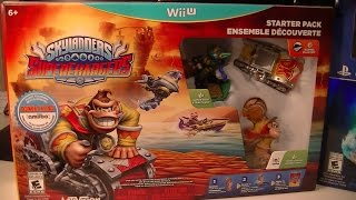 getlinkyoutube.com-SKYLANDERS SUPERCHARGERS WIIU EDTION UNBOXING