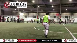 Deportivo 55 vs. PSG Liga Latinoamericana Segunda Categoria