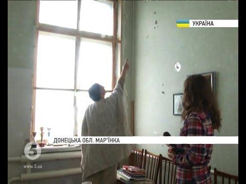 В Марьинке понемногу восстанавливают разрушенные террористами объекты.