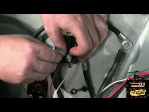 Painless Performance 65-66 Mustang Wiring Harness Installation Video Part 3