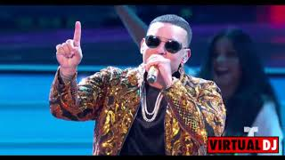 Daddy Yankee - Dura (REMIX) ft. Bad Bunny, Natti Natasha & Becky G (Official Video) width=