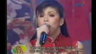 Regine sings All My Life