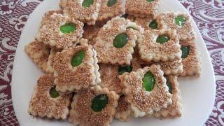 getlinkyoutube.com-حلويات سهلة / صابلي بالزنجلان مع طبخ ليلى halawiyat / sablés