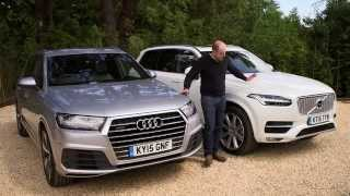 getlinkyoutube.com-Audi Q7 vs Volvo XC90 review | TELEGRAPH CARS