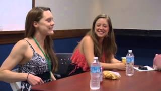getlinkyoutube.com-Brittany Karbowski and Carli Mosier Q&A Panel [part 2]