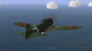 getlinkyoutube.com-【IL-2】零戦による空中戦=一撃離脱戦法