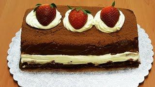 getlinkyoutube.com-حلويات سهله وسريعه بدون فرن روعة المذاق(ليزي كيك)حلويات العيد How to make chocolate lazy cake