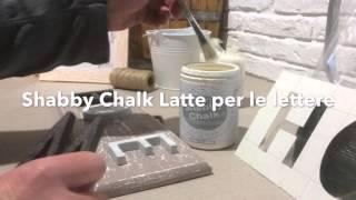 getlinkyoutube.com-HOME DECOR - Recupero Shabby Chic Di Un Vecchio Quadretto In Legno
