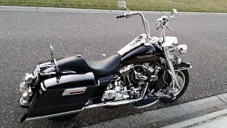 getlinkyoutube.com-Best Harley Exhaust Sound - Road King - Wild Pig Pipes - LOUD