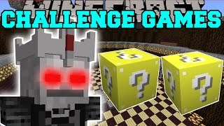 getlinkyoutube.com-Minecraft: SKELETON LORD CHALLENGE GAMES - Lucky Block Mod - Modded Mini-Game