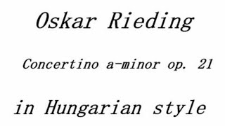 getlinkyoutube.com-Rieding, Concertino A minor in Hungarian Style op. 21 piano accompaniment