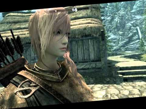Skyrim - Lightning FFXIII Mod [HD] (WITH DOWNLOAD)