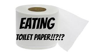 getlinkyoutube.com-EATING TOILET PAPER!!?!?