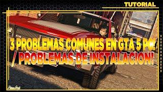 getlinkyoutube.com-GTA 5 - COMO SOLUCIONAR ERROR DE INSTALACION DE GTA 5 EN PC - 3 PROBLEMAS COMUNES!