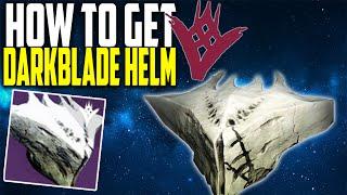 "getlinkyoutube.com-The Taken King: How to Get ""DARKBLADE HELM"" Best TTK Legendary Helmet"