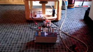getlinkyoutube.com-N.s.t Tesla coil run