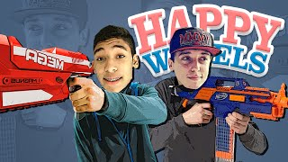 getlinkyoutube.com-DESAFIO DA NERF !! - HAPPY WHEELS