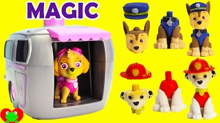 getlinkyoutube.com-Paw Patrol Skye Magical Pup House House with Shopkins Surprises and More'
