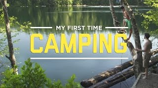 getlinkyoutube.com-My First Time Camping