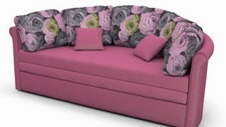 getlinkyoutube.com-Раскладной диван еврософа Ольборг - купить диван фабрики Андерссен