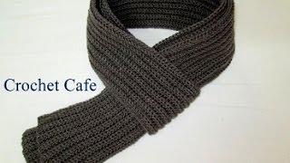 getlinkyoutube.com-كروشيه كوفية رجالي | كروشيه كافيه | Crochet Cafe