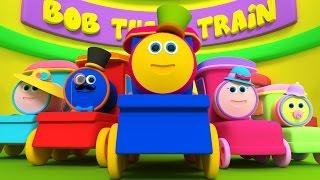 getlinkyoutube.com-Bob tren dedo familia   Rimas para niños   Nursery Rhymes   Songs For Kids   Bob Train Finger Family