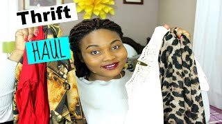 Thrift haul | try on
